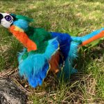 Micro Raptor Xing Custom Plush Art Doll