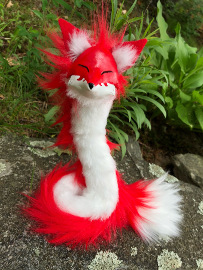 Red Fox Foxspirit TheCreatureSmith