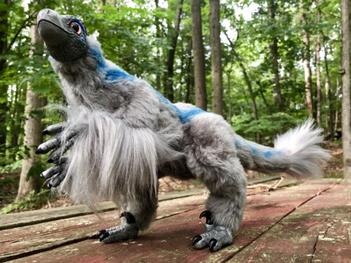 Blue Raptor Jurassic World Art Doll