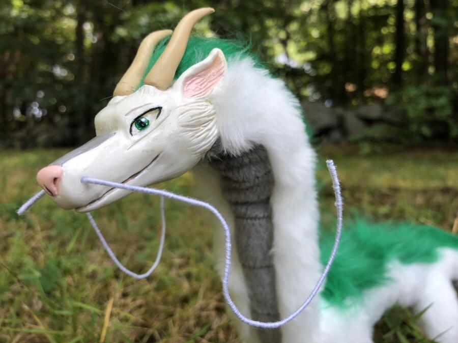 Haku Style River Spirit Dragon Art Doll Has Flown In The Creaturesmith