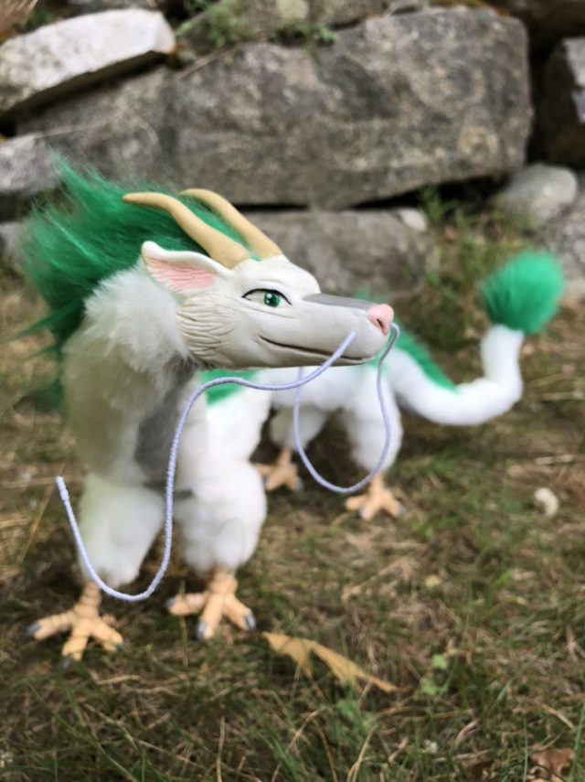 River Dragon Creature Posable Art Doll