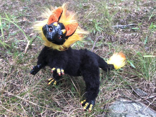 Pixiedragon Flame Cat Dragon Creature Smith