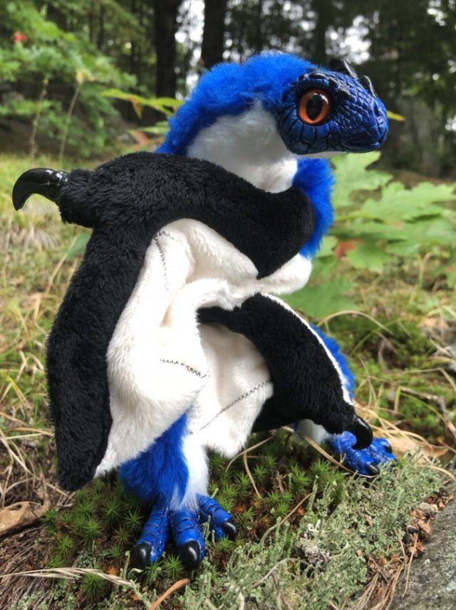 Bluejay Dragon Baby Creature Smith