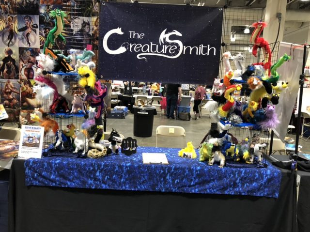 Creature Smith Artist Alley Table