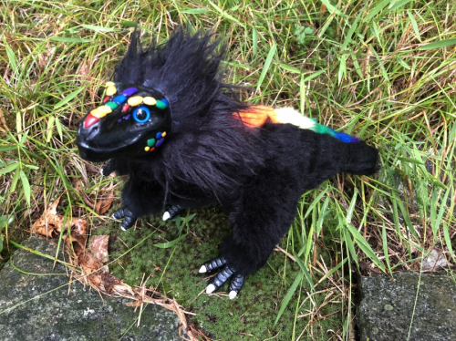 Creature Smith Custom T-rex Rainbow