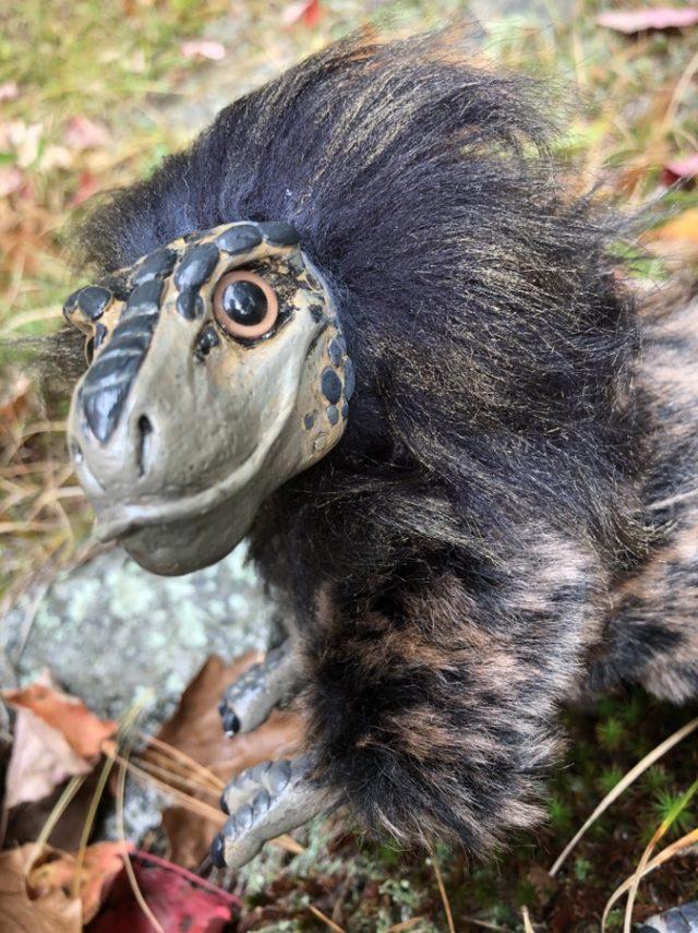 Realistic Tyrannosaur Art Doll