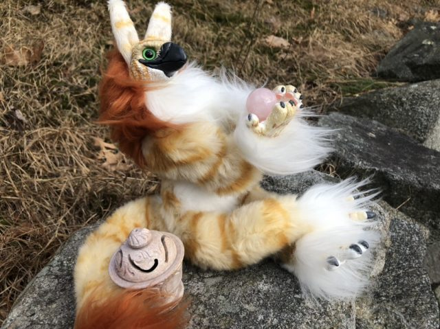 Gryphon Anthropomorphic Art Doll
