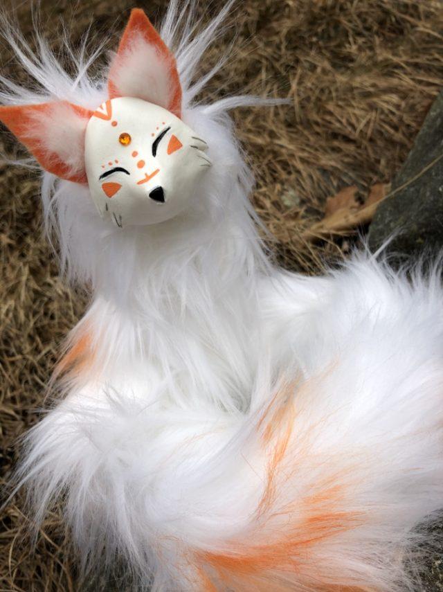 Orange Gem Fox Creature Smith
