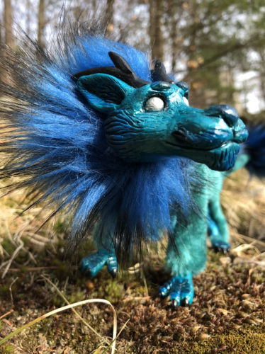 Galaxy Art Doll Blue Eastern Dragon