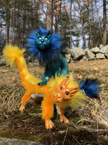 Art Dolls Eastern Dragon