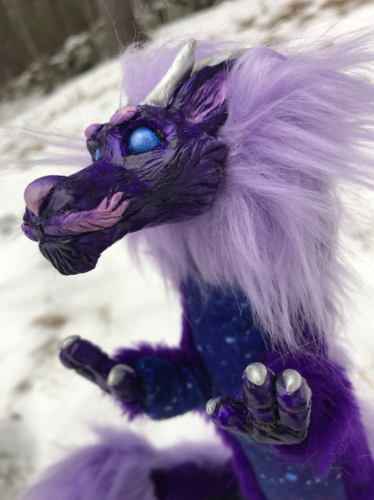 Purple Eastern Dragon Space