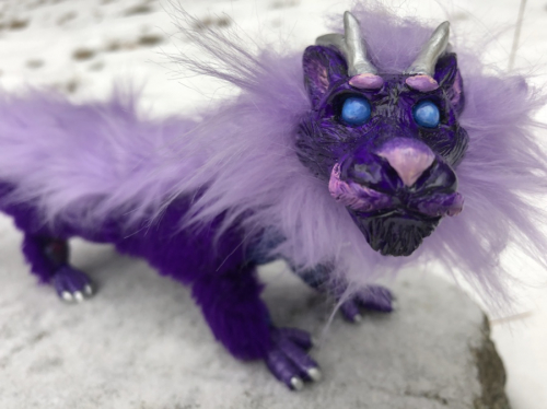 Lavender Dragon Long Fur