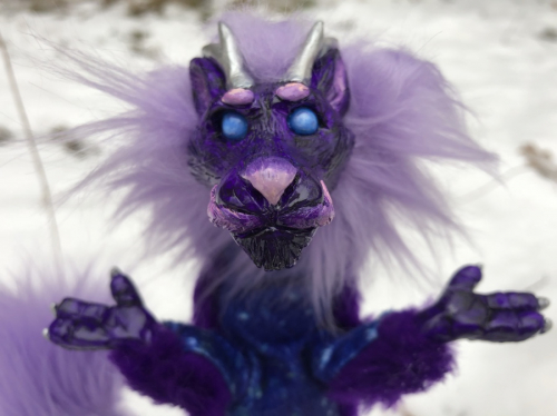 Posable Art Doll Asian Dragon Galaxy